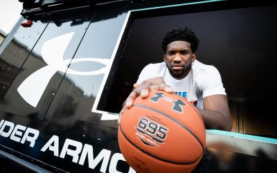 Joel Embiid Reveals Debut Signature Shoe with Under Armour