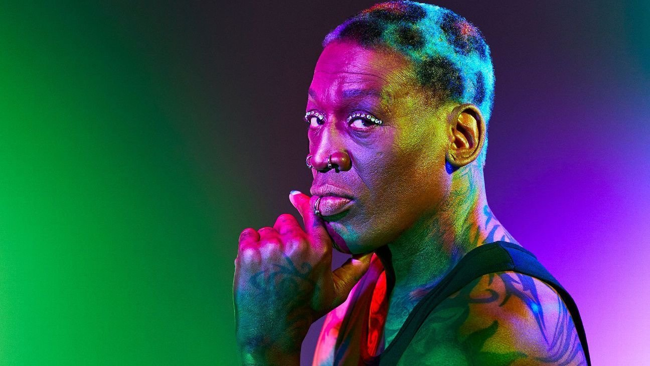 Dennis Rodman & Hair Coloring–Anything is Possible