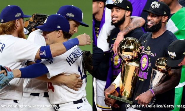 Lakers & Dodgers Win Championship In The Same Year Since 1988