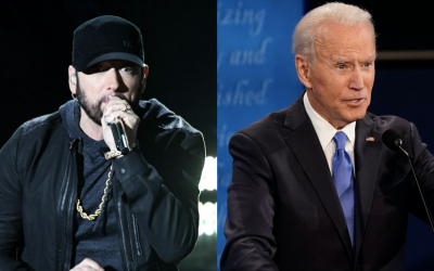 "Eminem Shows Support For Joe Biden With ""Lose Yourself"""