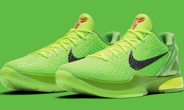 """Nike Reveals Kobe 6 Protro """"Grinch"""" Sneaker Dropping This Month"""