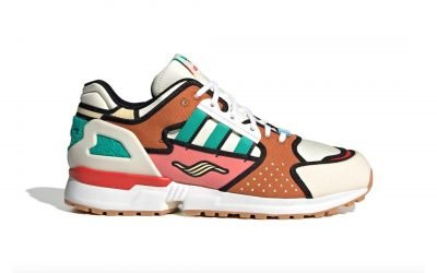 The Simpsons Teams Up With Adidas ZX 10000 For A Krusty Burger-Inspired Shoe