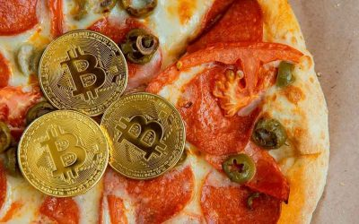 A $40 pizza was paid in bitcoin is worth $470 million USD if ordered today
