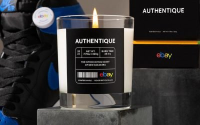 eBay's Authentique made a box-fresh sneakers smelling candle