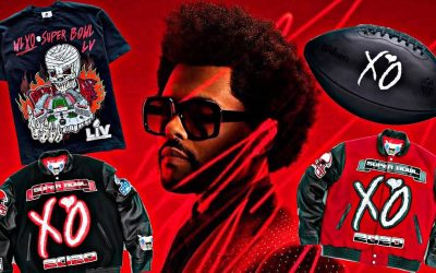 The Weeknd Collab with Jeff Hamilton, Warren Lotas and Wilson Football for Super Bowl LV Merch