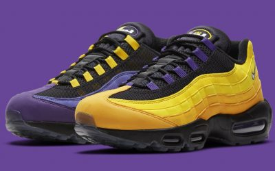 LeBron James' Lakers-inspired Air Max 95 set to release this month