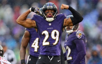 Ravens' Marlon Humphrey Is Living In A Camper As His Residence Is Constructed