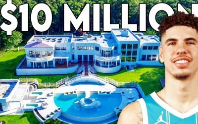 LaMelo Ball's Mansion: Private Theater, Helipad and Indoor Pool?!